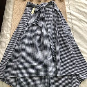 Max Studio Gingham Skirt